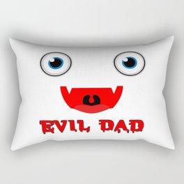 Evil Dad Rectangular Pillow