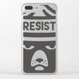Bear Hat is Resist Clear iPhone Case