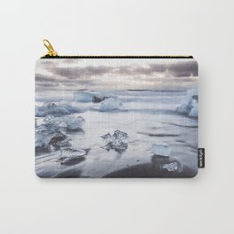 Ice Beach - Landscape and Nature Photography Carry-All Pouch