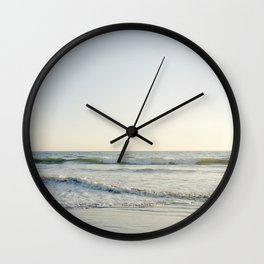 Waves at Pismo Beach California Wall Clock