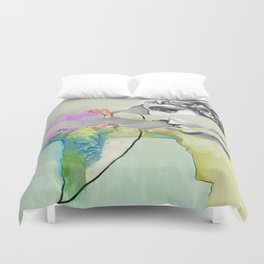 Ghost in the Stone #3 Duvet Cover