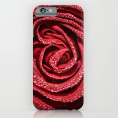 Raindrop Rose iPhone 6s Slim Case