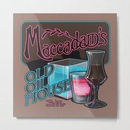 Maccadam's Metal Print