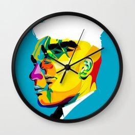 mugshots 01 Wall Clock