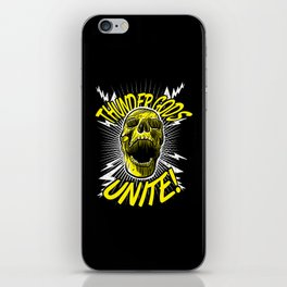 Thunder Gods Unite! iPhone Skin