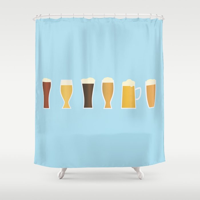 Beer Shower Curtain By Showalter