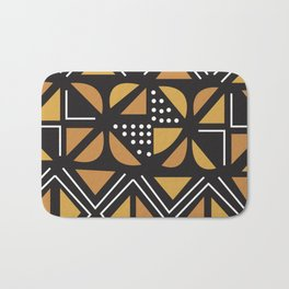 African Tribal Pattern No. 11 Bath Mat