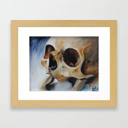 depth of field Framed Art Print