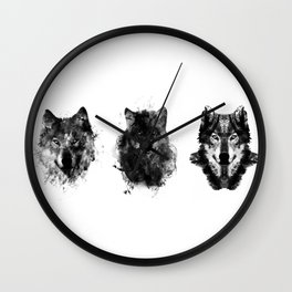 The Wolfpack Wall Clock
