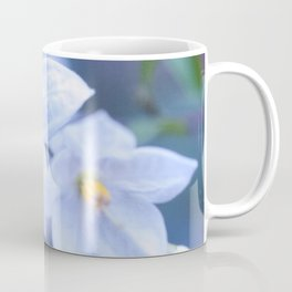 Jasmine Nightshade Flowers #3 #floral #art #society6 Coffee Mug
