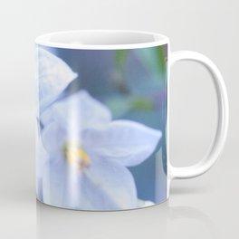 Jasmine Nightshade Flowers #3 #floral #art #society6 Coffee Mug