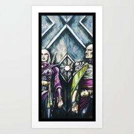 Gate Guard Art Print