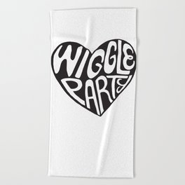 Wiggle Party Beach Towel