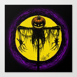 Killing Moon Canvas Print
