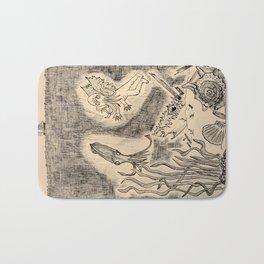 Parchment Sea  Bath Mat
