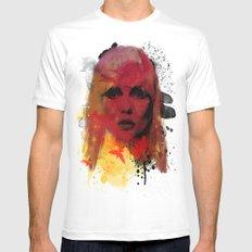 Debbie Harry - Blondie Mens Fitted Tee White MEDIUM