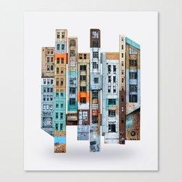 NEW-YORK PATCHWORK Canvas Print