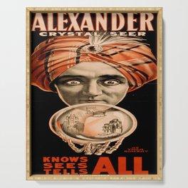 Vintage poster - Alexander, Crystal Seer Serving Tray