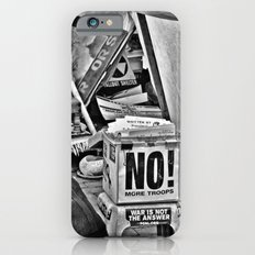 War is NOT the answer Slim Case iPhone 6s