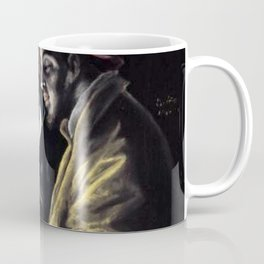 El Greco - An Allegory with a Boy Lighting a Candle in the Company of an Ape and a Fool (Fabula) Coffee Mug