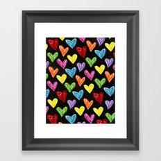 Midnight Love Framed Art Print