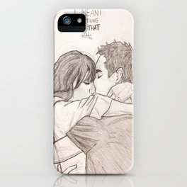 Nick and Jess iPhone Case