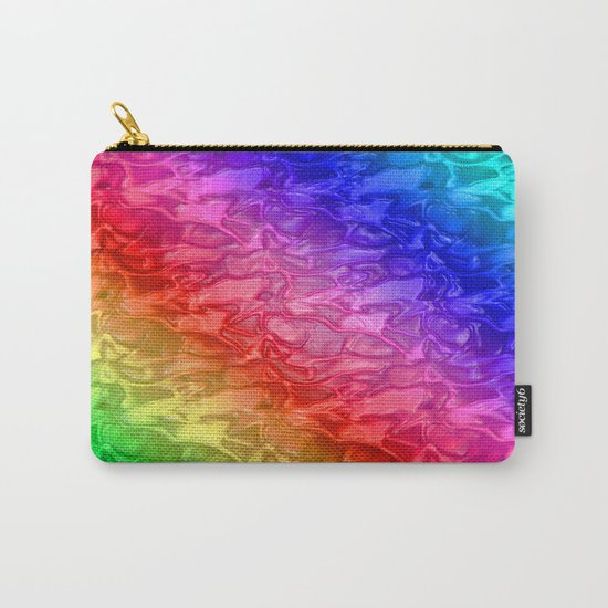 Rainbow - Plastic texture Carry-All Pouch