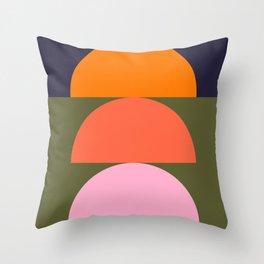 Spring- Pantone Warm color 03 Throw Pillow