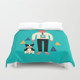 Powerless Duvet Cover