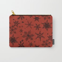 Snow Flakes 09 Carry-All Pouch