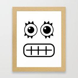 :::dientes::: Framed Art Print