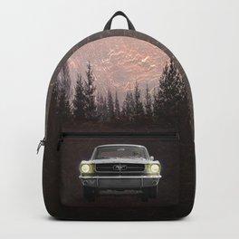 Vintage Mustang Pines Backpack