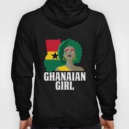 Proud Ghana Girl Flag West African  Hoody