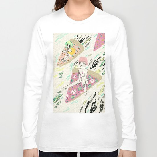 Pizza Riders Long Sleeve T-shirt