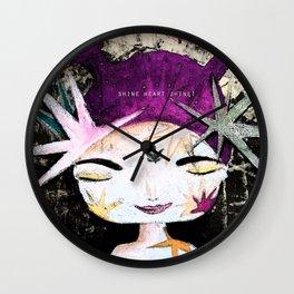Solar Love Wall Clock