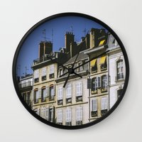 90s Wall Clocks featuring The 90s in France by MarioGuti