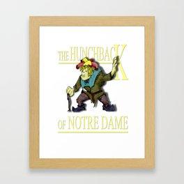 The Hunchback of Notre Dame Framed Art Print