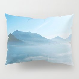 Mountains and ocean Pillow Sham