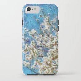 Blossom and Blue Sky In Monet Style iPhone Case