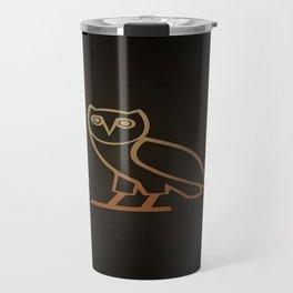 DRAKE Owl logo Travel Mug