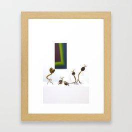 Poetry of time Framed Art Print