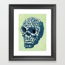 Bunny Skull Uprisings  Edition Framed Art Print