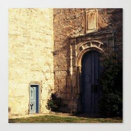 the second door Canvas Print