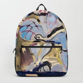 Stillleben mit Orchideen - Ernst Ludwig Kirchner Backpack