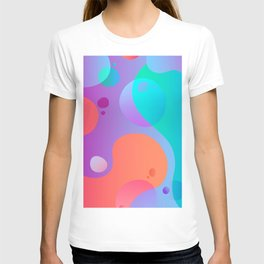 Abstract Lava Lamp T-shirt