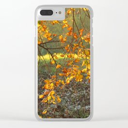beautiful autumn ! Clear iPhone Case