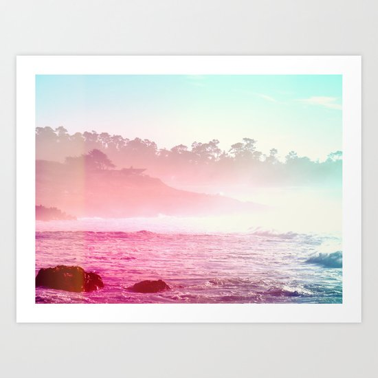 Summer on the Coast Art Print
