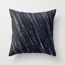 Metal speed of light Throw Pillow