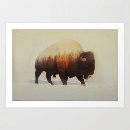 Bison (V3 Series) Art Print
