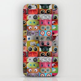 Eyes Eyes Eyes  iPhone Skin